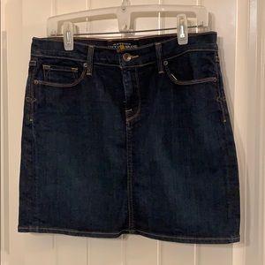 Lucky brand jean skirt